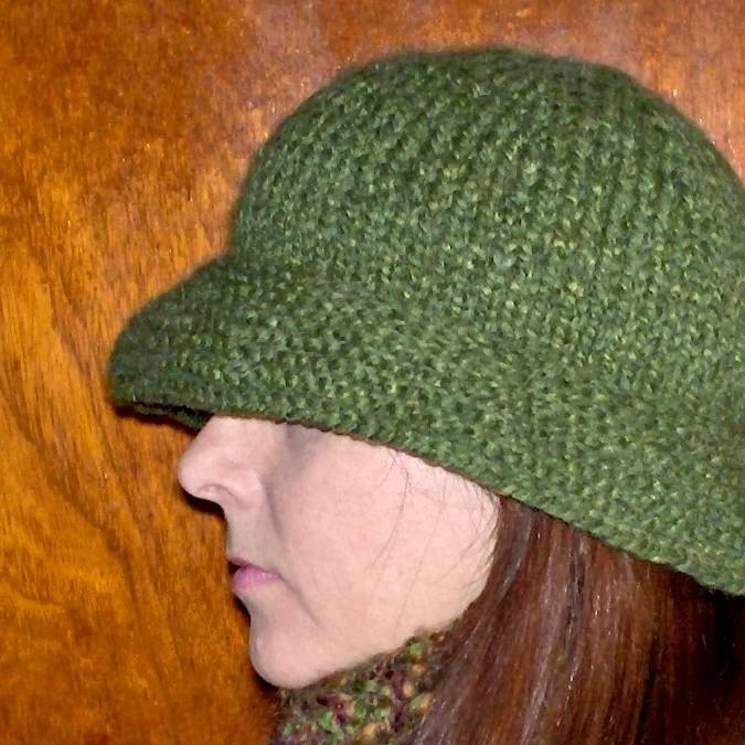 Paulas Green Hat