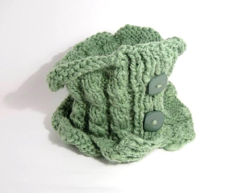 Scarflette - Moss Green