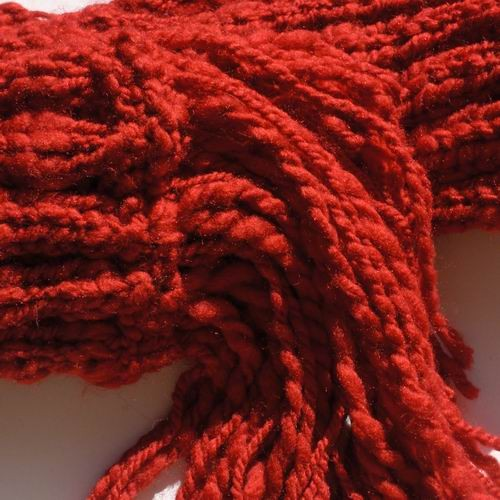 Marians Red Scarf