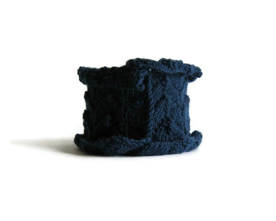 Lace Scarflette Blue