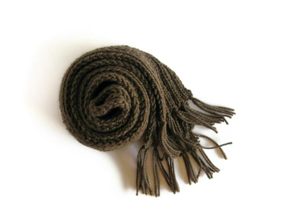 Merino chunky scarf