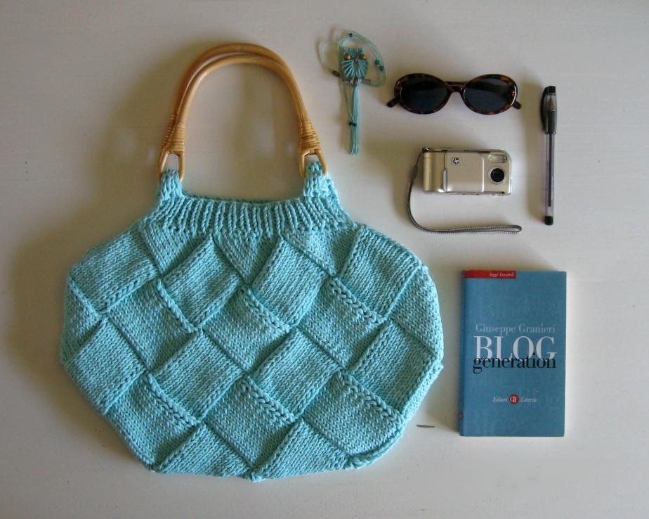 Robin Egg Blue Bag