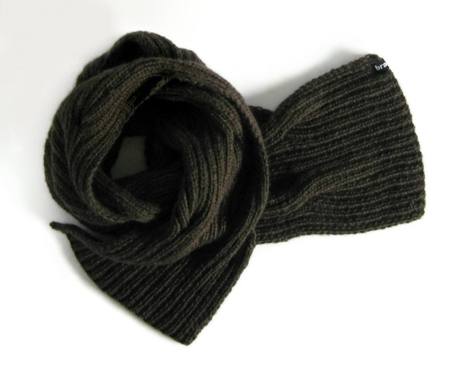 Taupe Waves Scarf