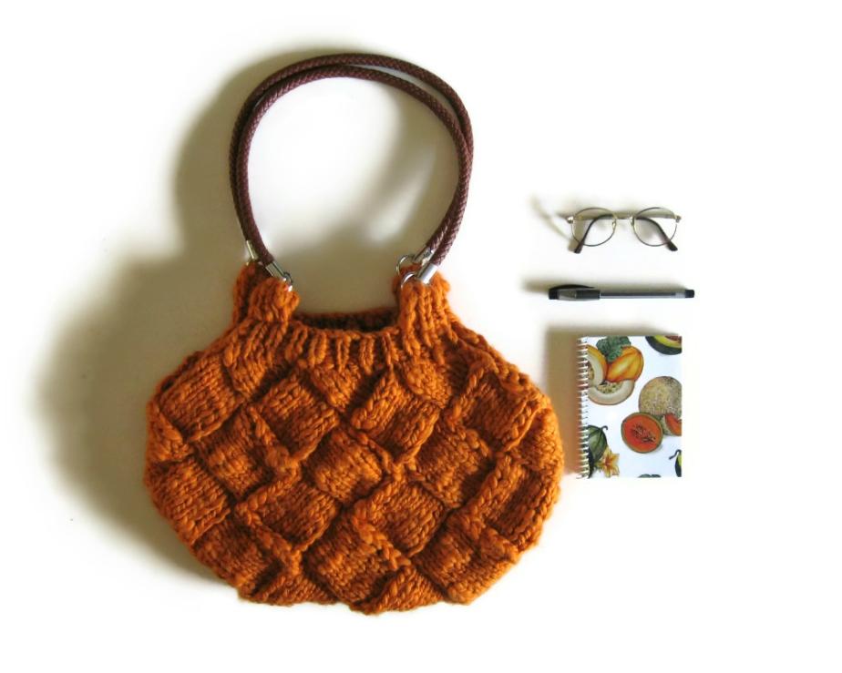Chunky Amber Handbag