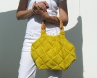 Yellow Beach Purse by knitbranda