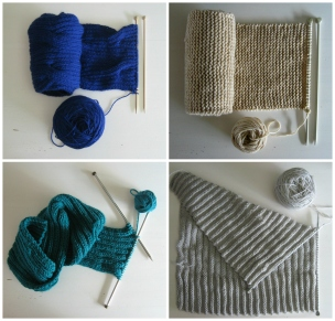 4 works in progress by knitbranda
