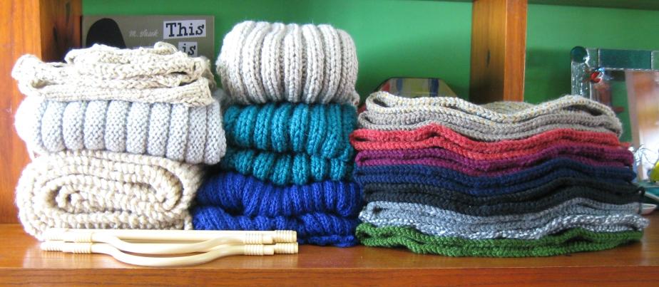 New Items to finish in knitBranda