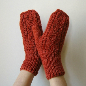 Terracotta_Mittens_Hand_Knitted_by_knitBranda
