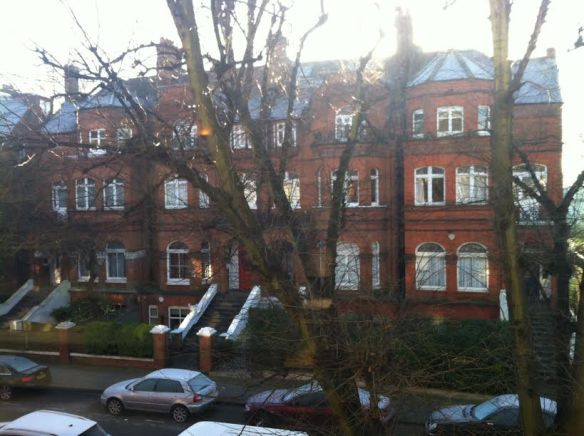 Vista del living de Marina, Greencroft Gardens, West Hampstead 2