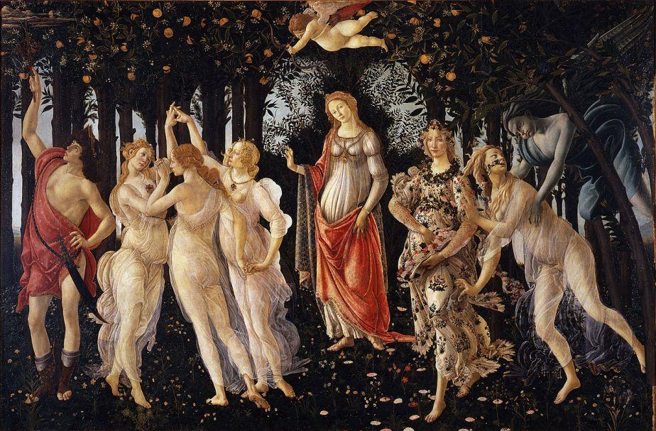 Primavera - Sandro Botticelli c.1482