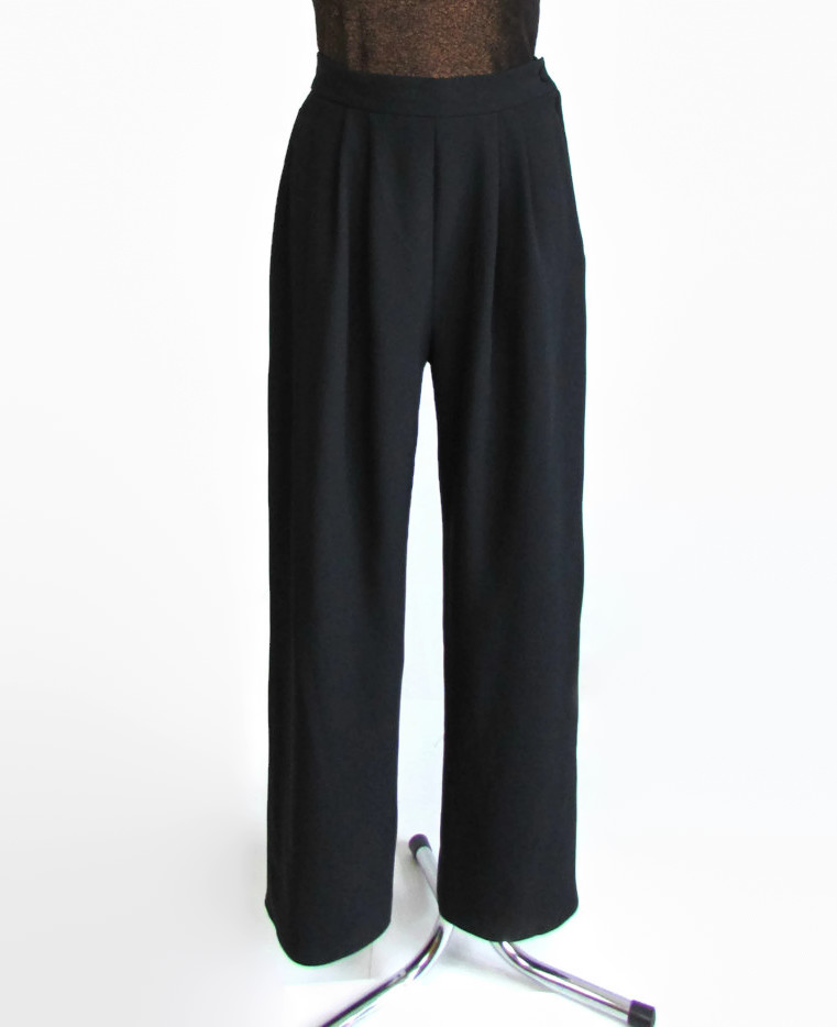 Vintage Shelana Black Evening Pants de VTGCollectionShop