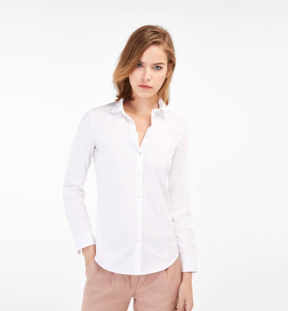 Camisa blanca - Massimo Dutti