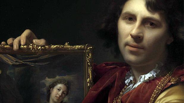 Auto retrato de Adriaen Van Der Werff - Rijksmuseum