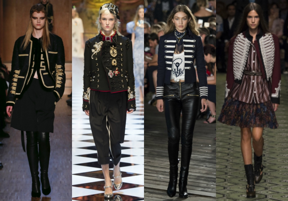 Givenchy, Dolce Gabbana, Tommy Hilfiger y Burberry Fall 2016
