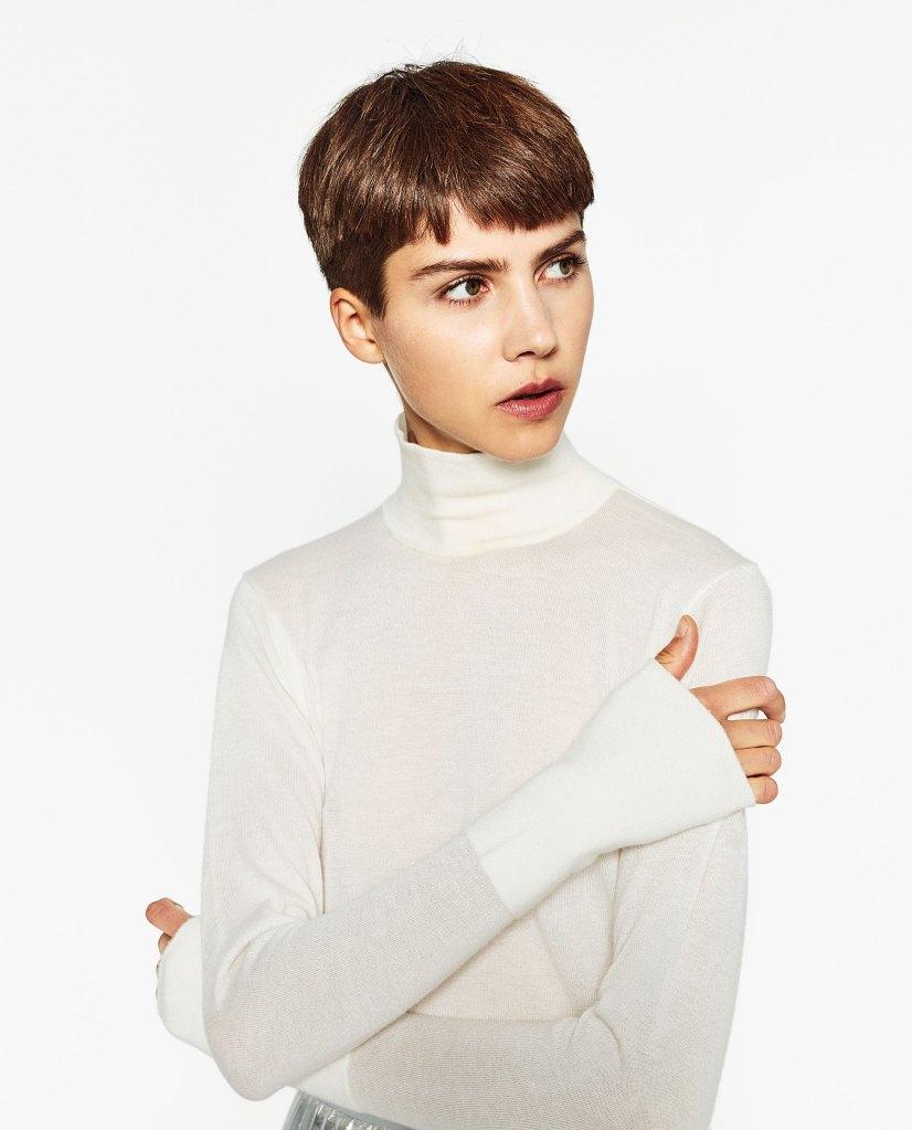 Jersey cuello cisne - Zara