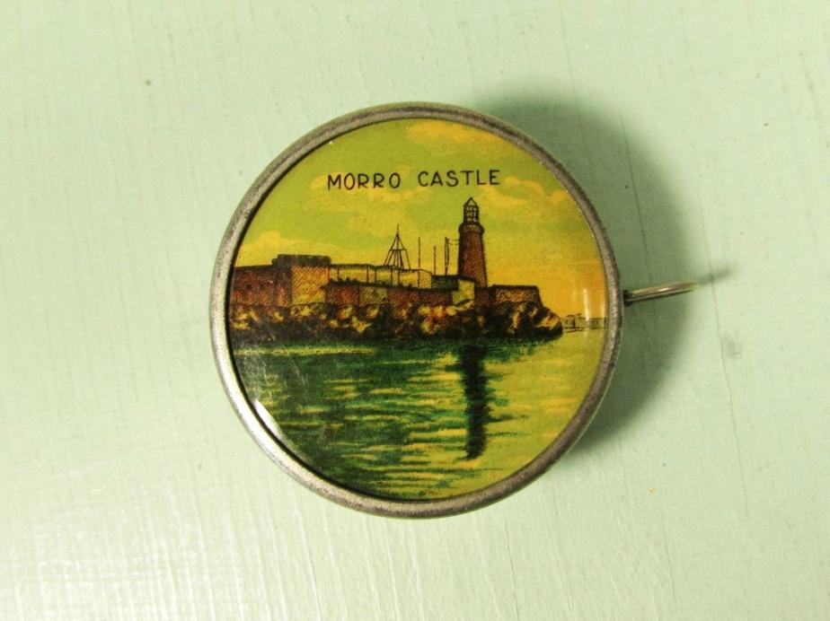 Morro Castle Souvenir Tape Measure - FortyAcreVintage