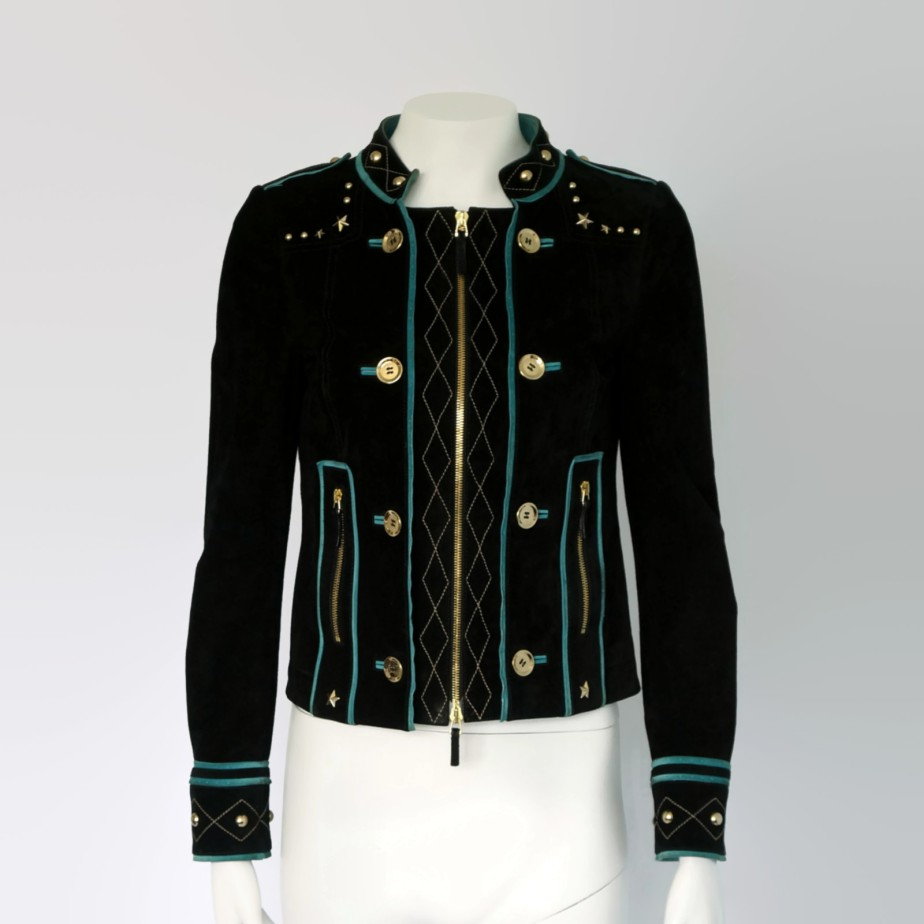 Gucci suede leather jacket - PandoraFashion