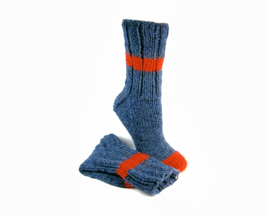 Heavy Duty Wool Socks Hand Knit - PEIsocks