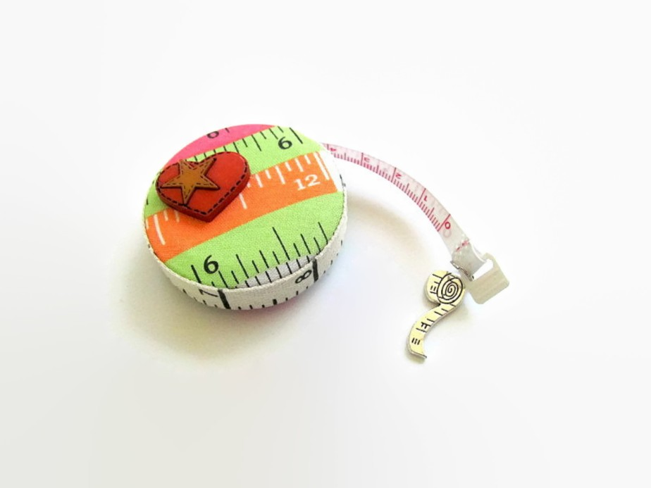 Tape Measure Fabric Retractable Measuring Tape - AllAboutTheButtons
