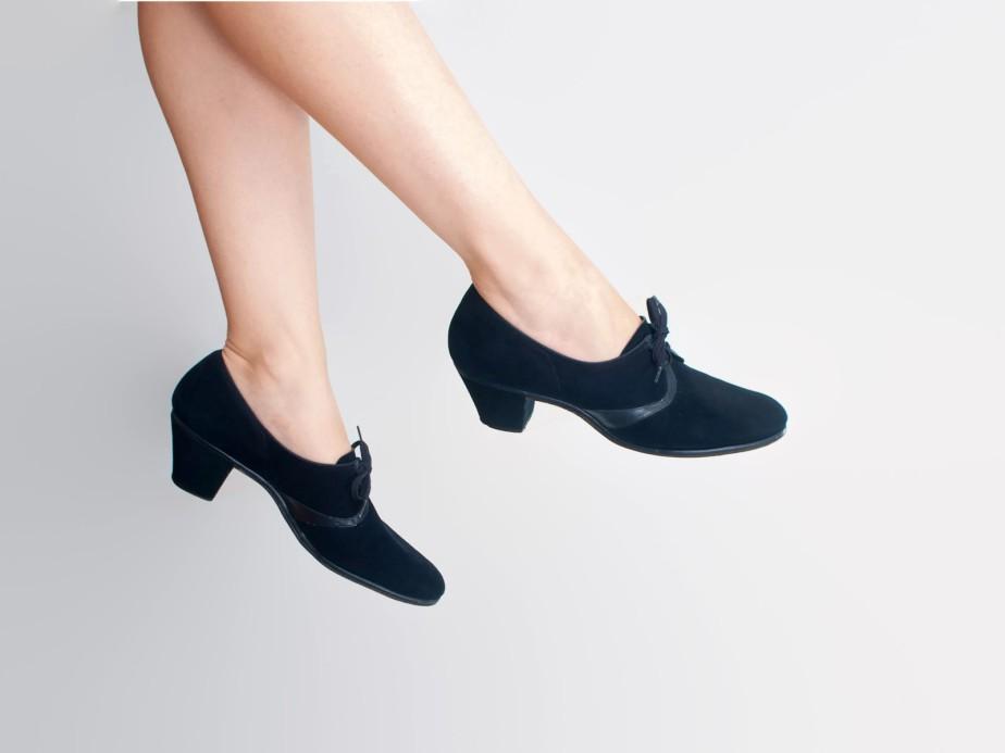 Zapatos azules acordonados (años 60) - WildLifeTX