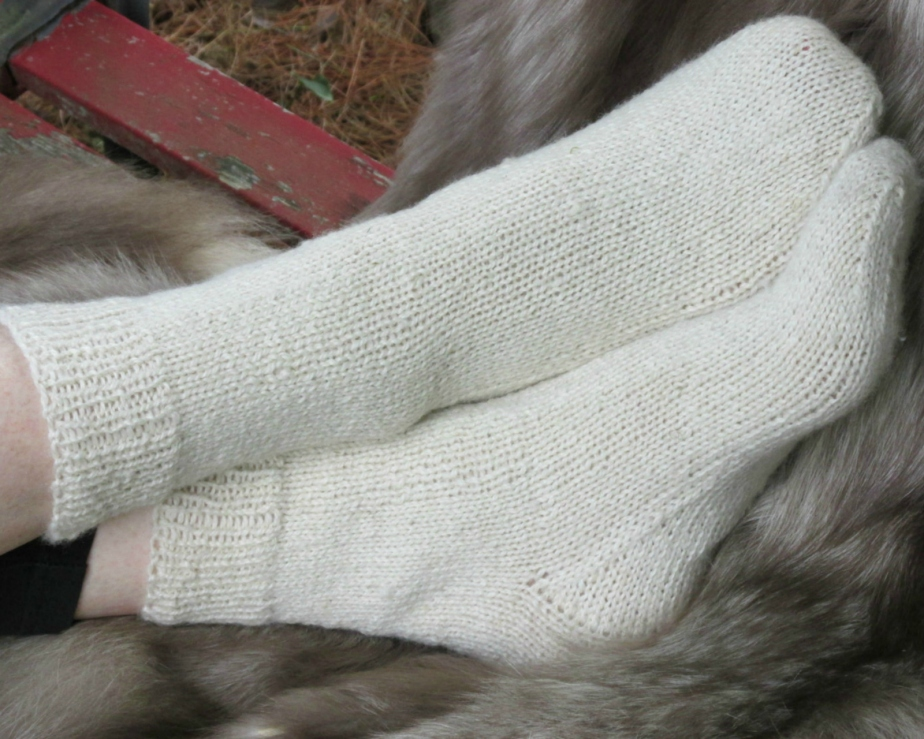Hand Knit Alpaca Socks - KingstonAlpacaKnits