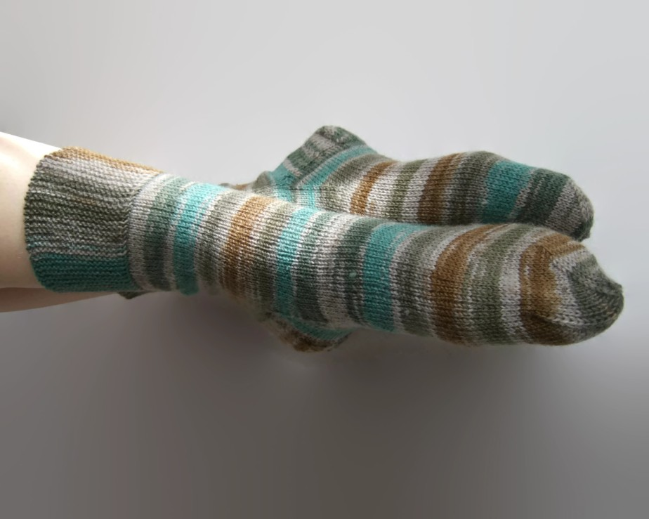 HANDMADE socks. KNITTED - Ligitashop
