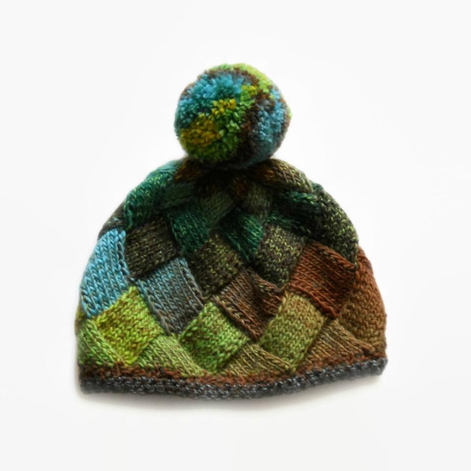 Entrelac knit beanie por UrbanStyleKnit