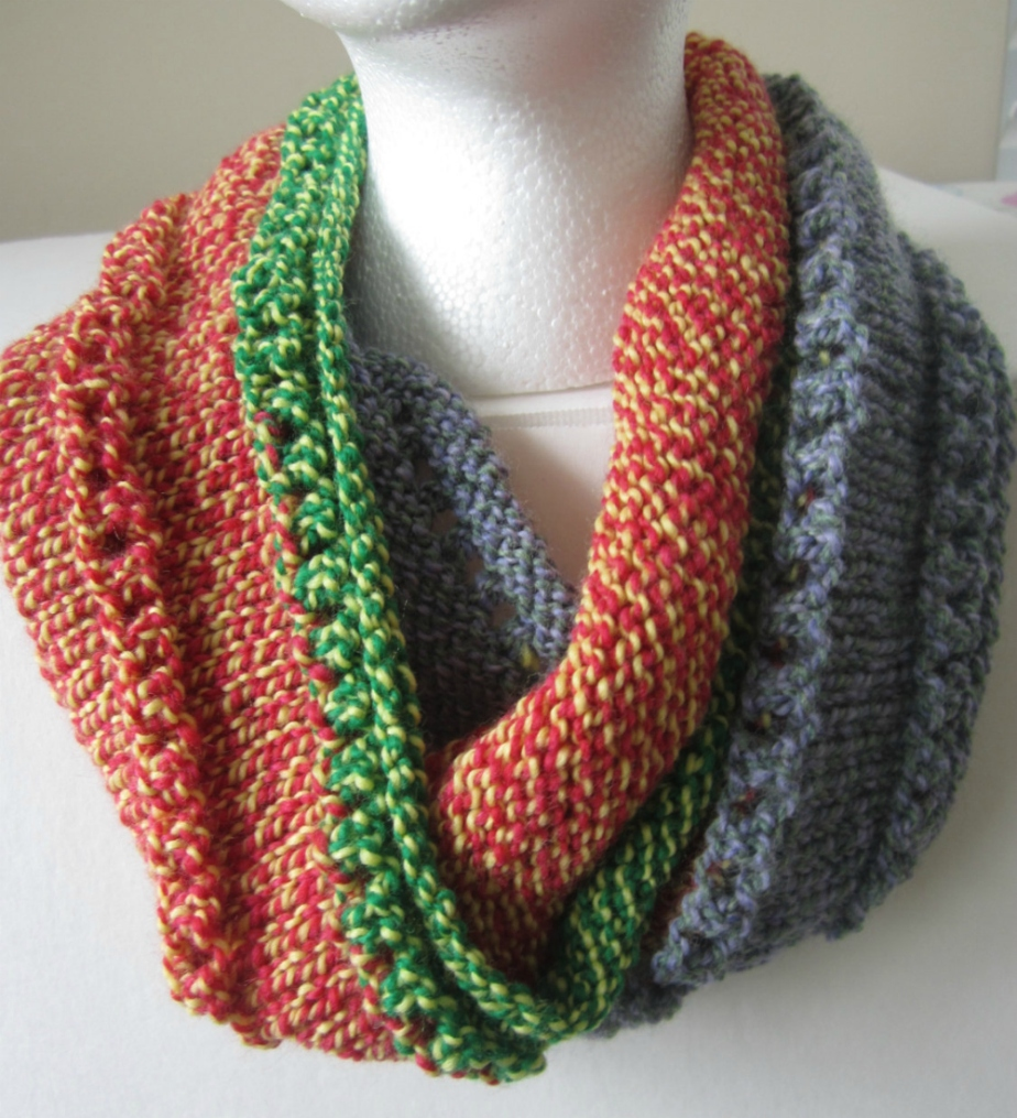 Fall Knit Scarf por ThreadsandPurls