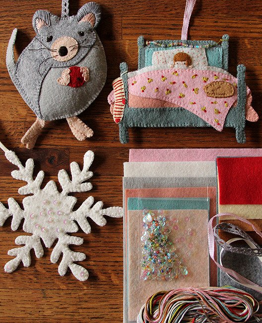Night Before Christmas Ornament Set Kit - possie by Alicia Poulson