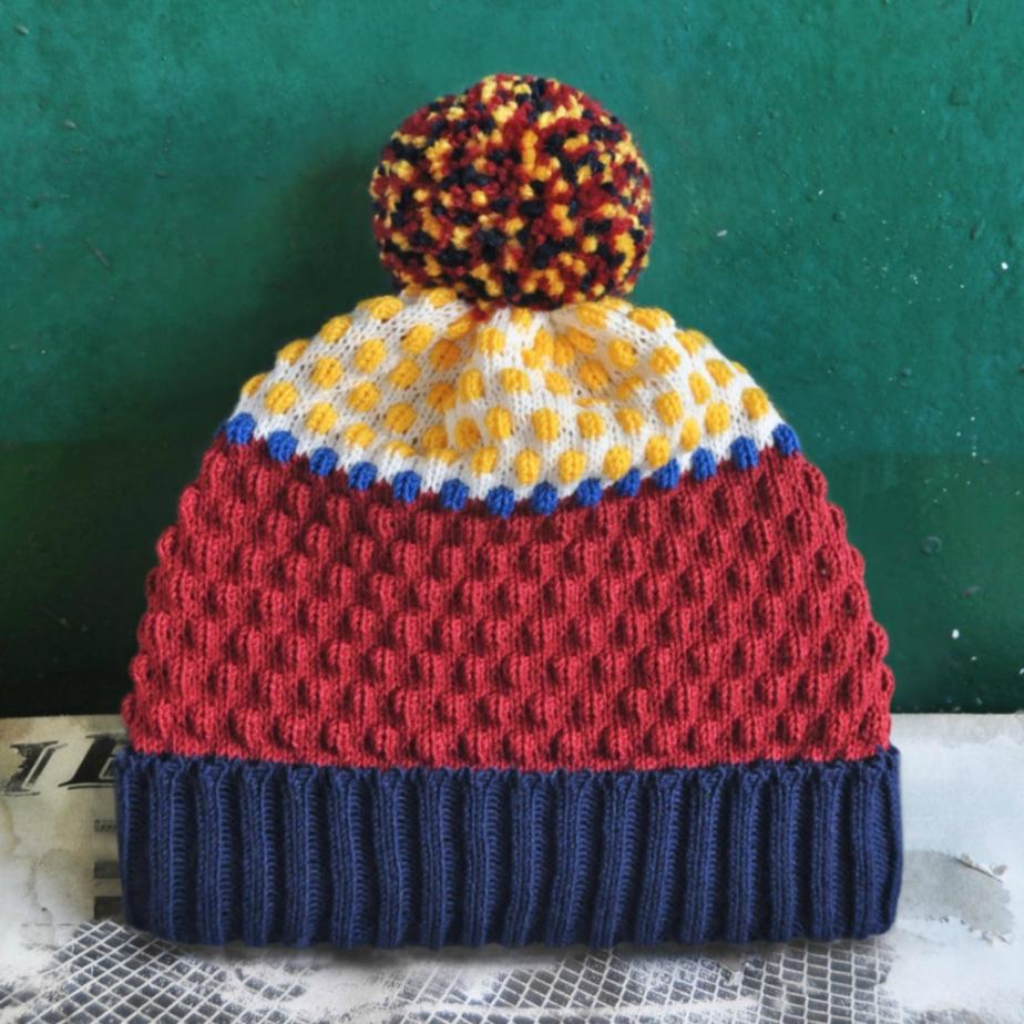 Pinocchio Detachable PomPom Beanie Hat por YuSquare