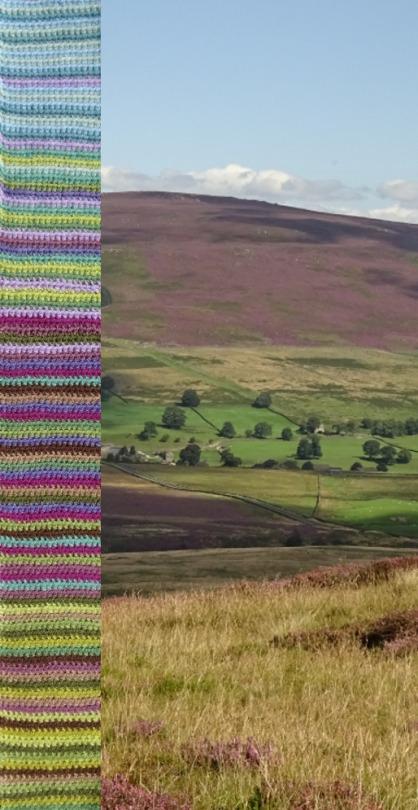 Moorland Blanket CAL :: Introduction - Attic24