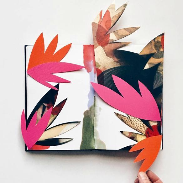 Los cuadernos de arte de Eva Magill-Oliver