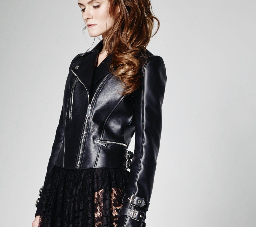 Black Leather Jacket de PixieWontPlay