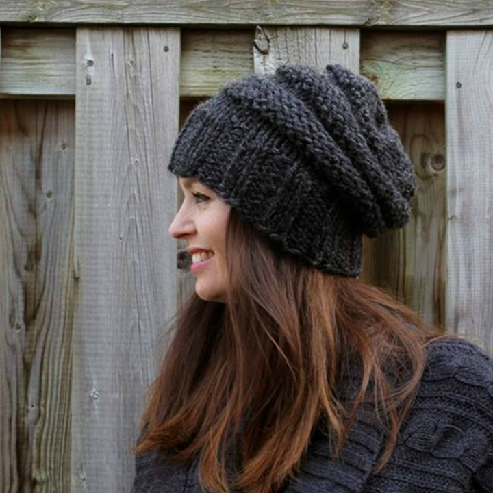 THE ELORA HAT by WinterWhiteKnits