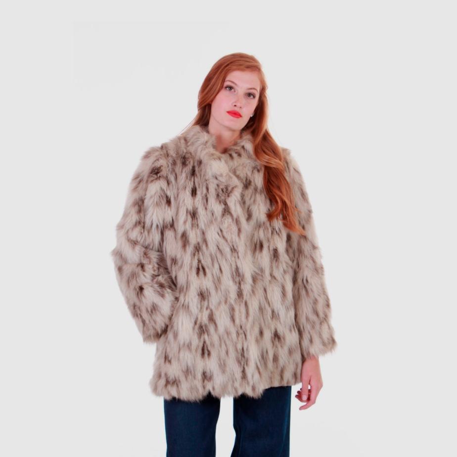 80s Vintage Faux Fur Coat de KCOVINTAGE