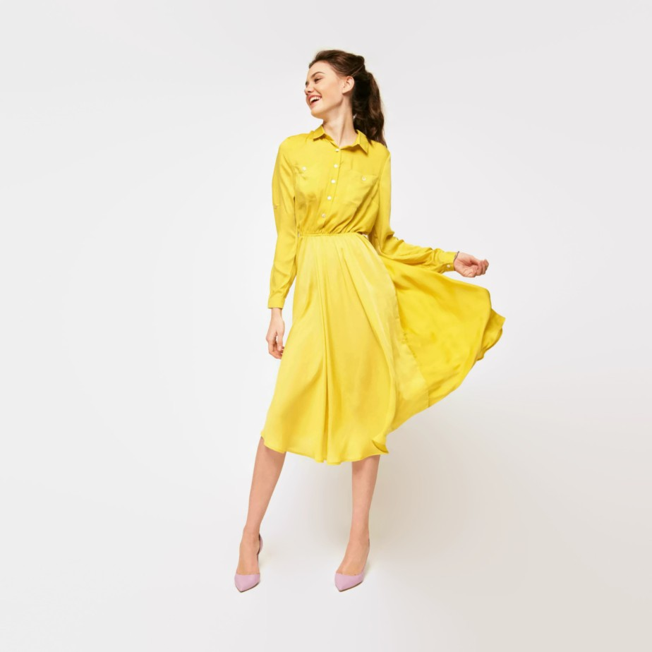 Woman shirt dress de OverTheSeaDRESS