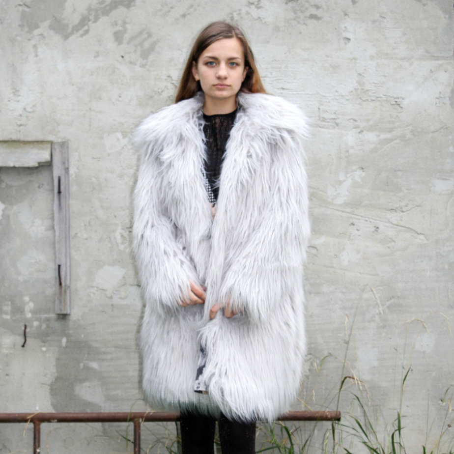 LONG fur coat de BoomDaisy